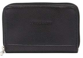 Longchamp VF Leather 3612 Coin Wallet - BLK/NICKEL - STYLE