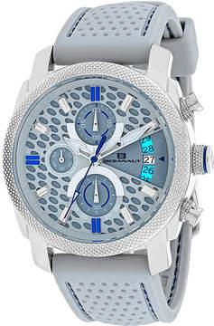 Oceanaut Kryptonite Mens Gray Rubber Strap Watch