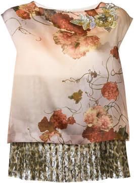 Antonio Marras layered sleeveless top
