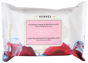 Korres Pomegranate Cleansing Wipes.