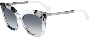 Safilo USA Fendi 0179 Rectangle Sunglasses