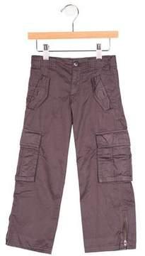 Bonpoint Boys' Flat Front Cargo Pants