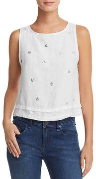 Bella Dahl Metallic Star Print Tank