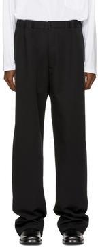 Balenciaga Black Elastic Chino Trousers