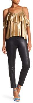 Angie Faux Leather Moto Pants