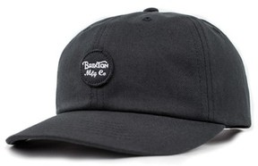 Brixton Men's Wheeler Snapback Baseball Cap - Black