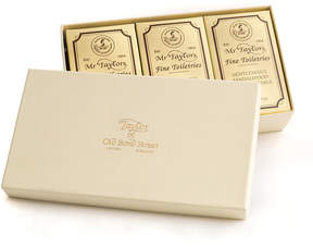 Sandalwood 3 Soap Set by Taylor of Old Bond Street (200gea Soap Set)