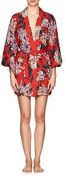 Fleur Du Mal Women's Floral Silk Kimono