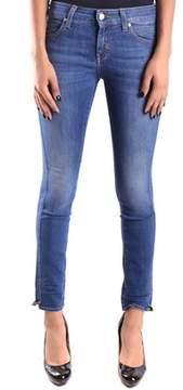 Meltin Pot Women's Blue Cotton Jeans.