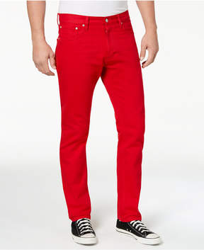 Calvin Klein Jeans Men's Iconic Slim-Fit Tango Red Jeans