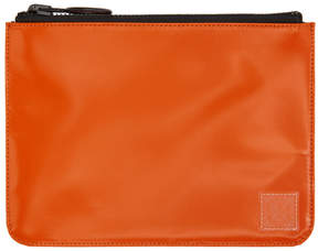 Off-White Orange Flat Pouch