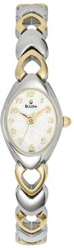 Bulova Women's Dress Two Tone Stainless Steel Watch - 98V02