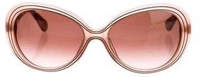 Diane von Furstenberg Tinted Emily Sunglasses