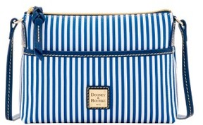Dooney & Bourke DB Stripe Ginger Crossbody Shoulder Bag - NAVY - STYLE
