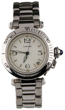 Cartier Pasha Automatic Mens 35mm Watch