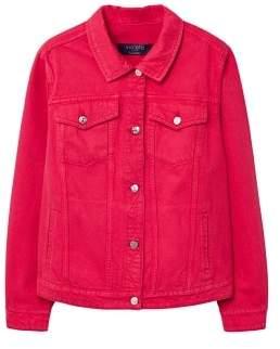 Violeta BY MANGO Color denim jacket