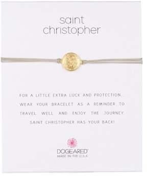 Dogeared St. Christopher Cord Bracelet
