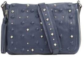 Sanctuary Rockstar Studded Leather Crossbody Bag