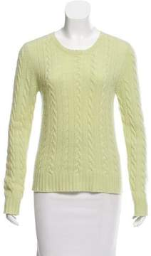 Calypso Cashmere Cable Knit Sweater