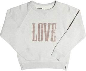 Zadig & Voltaire Love Embellished Cotton Sweatshirt