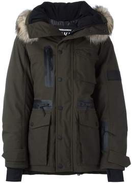 DSQUARED2 Ski fur trim parka