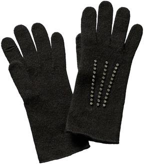 Portolano Women's Black Wool Gloves
