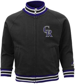 Majestic Baby Colorado Rockies Track Jacket