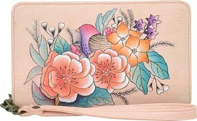 Anuschka Anna By ANNA by Hand Painted Clutch Wallet 1859 (Women's)