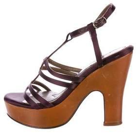Marni Satin Platform Sandals