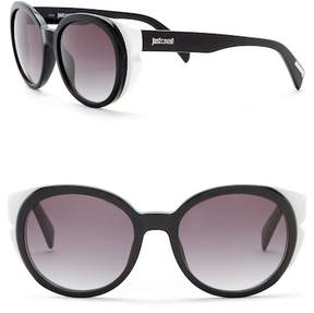 Just Cavalli Round 53mm Plastic Sunglasses