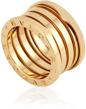 Bvlgari B.zero1 18kt Yellow Gold Four-band Size 6 Ring