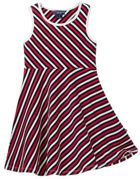 Toobydoo Shae Striped Skater Dress (Toddler, Little Girls, & Big Girls)