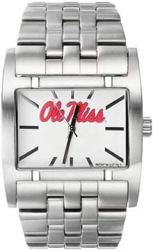 Rockwell Kohl's Ole Miss Rebels Apostle Stainless Steel Watch - Men