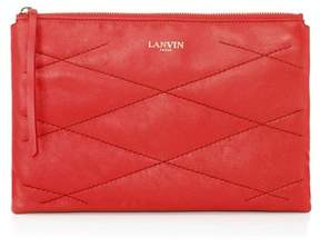 Lanvin Sugar Cosmetic Case In Lambskin