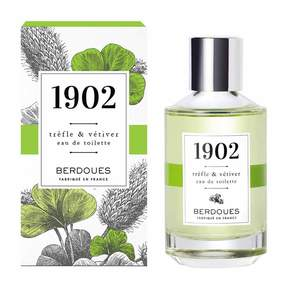 Berdoues Trefle + Vetiver 1902 Eau de Toilette by 3.38floz Fragrance)