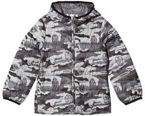 Gap Grey Star WarsTM ColdControl Lite Puffer Jacket