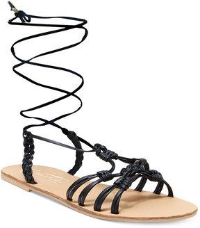 Nanette Lepore Nanette by June Flat Lace-Up Sandals Women's Shoes