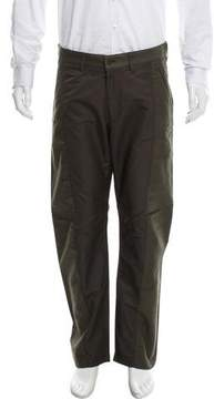Issey Miyake Cropped Flat Front Casual Pants