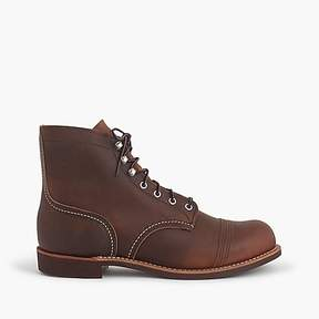 J.Crew Red Wing® Iron Ranger boots in Copper Rough & Tough