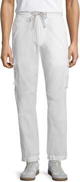 James Perse Men's Contrast Waist Cargo Pants