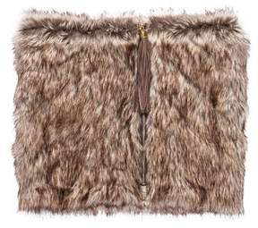 Henri Bendel Reversible Faux-Fur Cowl