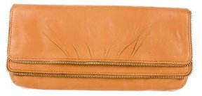 Lauren Merkin Leather Flap Clutch
