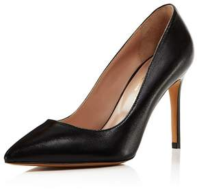 Charles David Genesis Leather Pointed Toe High Heel Pumps