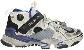 Vetements Reebok X Genetically Modified Pump Sneakers