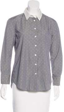 Band Of Outsiders Long Sleeve Gingham Button-Up