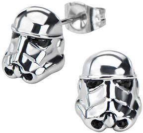 Star Wars FINE JEWELRY Stormtrooper Stainless Steel Earrings