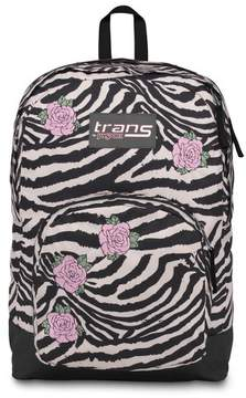 JanSport Trans by 17.5 Overt Backpack - Zebra Rose