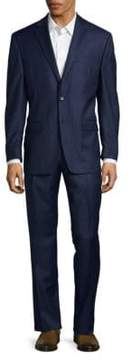 Lauren Ralph Lauren Regular Fit Solid Wool Suit