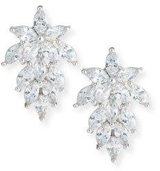 Fallon Monarch Mini Cluster Crystal Earrings