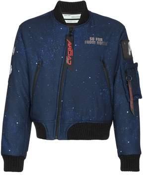 Off-White c/o Art Dad New Age bomber jacket